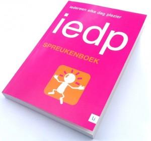 IEDP Spreuk van de Dag-boek
